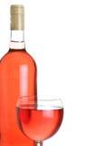 Vinho de Rosa Fotos de Stock Royalty Free