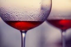 Vinho de Rosa no balcão em Boracay Imagens de Stock