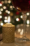 Vinho do Natal Imagens de Stock