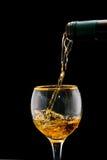 Vinho do ouro Imagem de Stock