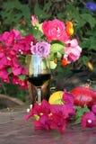 Vinho do verão Imagem de Stock Royalty Free