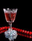 Vinho e jóia fotos de stock royalty free