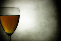 Vinho e mensagem 2 Foto de Stock