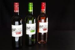 Vinho espanhol Foto de Stock