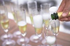 Vinho espumante Foto de Stock