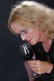 Vinho-gosto Imagens de Stock Royalty Free