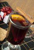 Vinho Mulled Foto de Stock