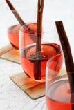 Vinho Mulled Fotografia de Stock