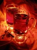 Vinho mulled bebida do X-mas Imagem de Stock