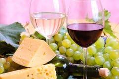 Vinho no vidro Foto de Stock