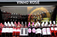 Vinho Rosa da vendere Fotografie Stock Libere da Diritti