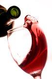 Vinho tinto Fotografia de Stock Royalty Free