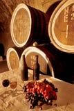 Vinho vault-003 Foto de Stock