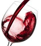 Vinho vermelho Fotos de Stock
