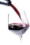 Vinho vermelho Fotos de Stock Royalty Free