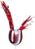 Vinho vermelho ilustração stock