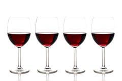 Vinho vermelho Fotografia de Stock Royalty Free