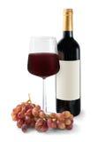 Vinho vermelho bebendo Imagem de Stock Royalty Free