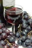 Vinho vermelho em um vidro Fotografia de Stock Royalty Free