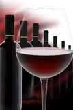 Vinho vermelho precioso Fotos de Stock Royalty Free