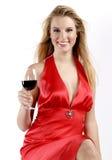 Vinho vermelho vermelho Fotos de Stock