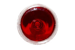 Vinho vermelho, a vista superior. Fotos de Stock Royalty Free