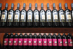Vinhos do doscana de Italy Imagem de Stock Royalty Free
