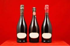 Vinhos Sparkling Fotografia de Stock Royalty Free