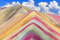 Vinicunca, περιοχή Cusco, του Περού στοκ φωτογραφίες