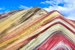 Vinicunca, Rainbow Mountain - Peru Royalty Free Stock Photo