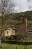 Viniegra de Abajo i La Rioja Arkivfoto