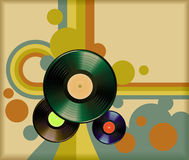 Vinil retro Fotografia de Stock Royalty Free