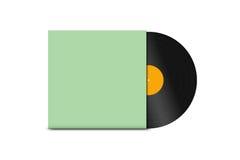 Vinile record Fotografia Stock