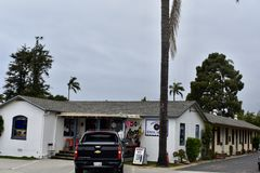 Vinile Shack Carpinteria California, 2 del ` s di Murphy immagine stock libera da diritti