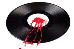 Vinilo de la sangría Imagenes de archivo