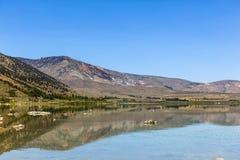 Vining Jezioro w Kalifornia blisko Zawietrznego Vining Zdjęcia Royalty Free