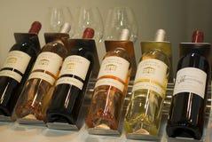 vinitaly陈列国际酒 免版税库存图片