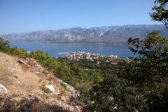 Vinjerac, Adriatic Sea in Croatia Stock Photos