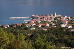 Vinjerac, Adriatic Sea in Croatia Royalty Free Stock Images