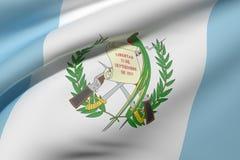 Vinka för Guatemala flagga Arkivbild