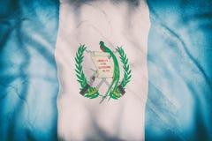 Vinka för Guatemala flagga Royaltyfri Bild