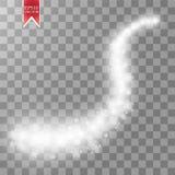 Vinka stjärnor, och snöflingor skuggar effekt på genomskinlig bakgrund Abstrakt ljus målningvektorillustration Arkivfoton