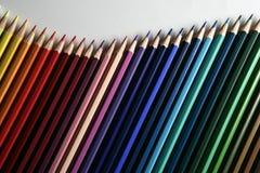 Vinkar färgpennan Royaltyfri Fotografi