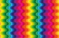 Vinkar regnbågebakgrund vektor illustrationer