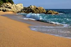 Vinkar sand Arkivfoto