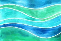 Vinkar vattenfärgbakgrunder Royaltyfri Bild