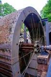 Vinkel av hjulet arkivfoton