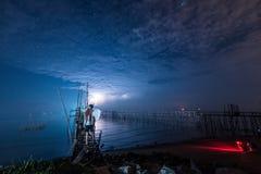 Vinkel med belysning fotografering för bildbyråer