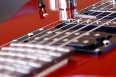 vinkelelektrisk gitarrrock Royaltyfri Fotografi