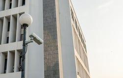 Vinklar för singel för räkning för kameror för utvändig säkerhet Royaltyfri Bild